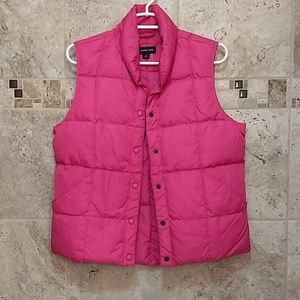 Lands End Puffer Vest size Small